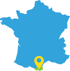 pyrenees location map